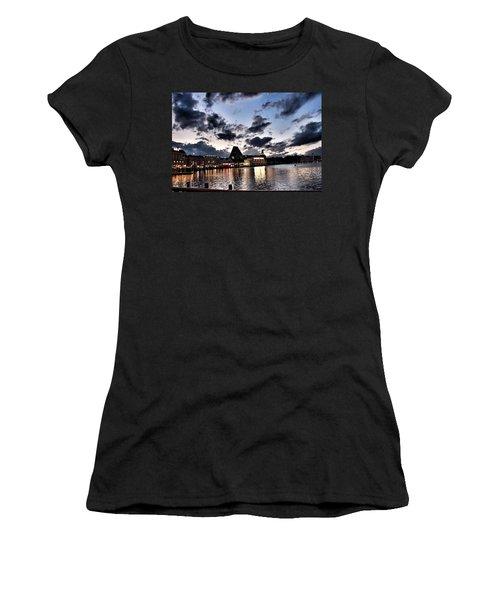 Disney Boardwalk Sunset Women's T-Shirt