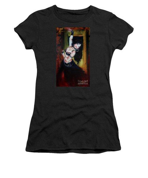 Divine Fusion Women's T-Shirt (Athletic Fit)