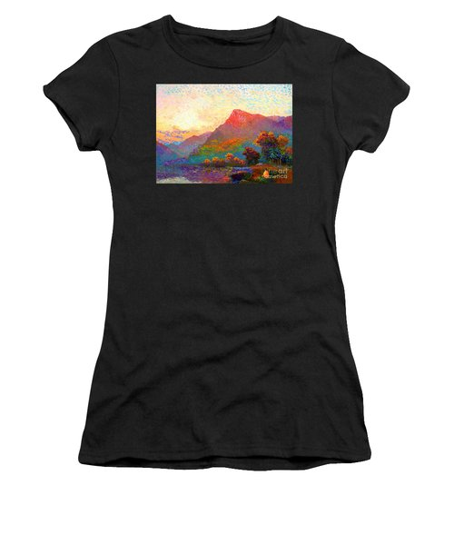 Buddha Meditation, Divine Light Women's T-Shirt