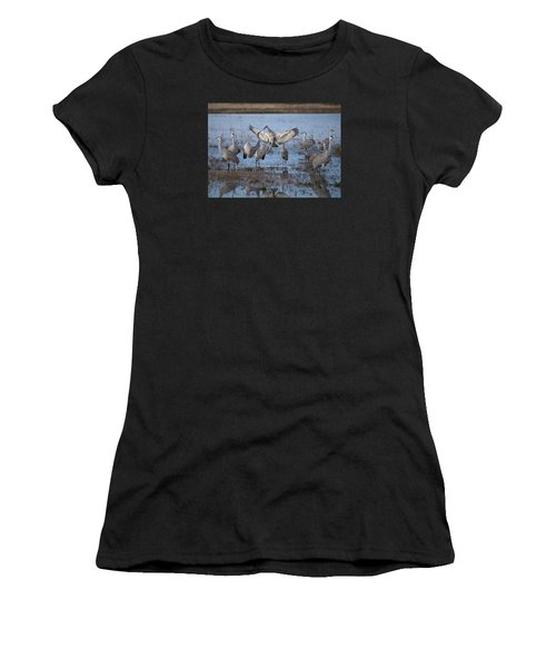 Do You Wanna Dance? Women's T-Shirt (Athletic Fit)