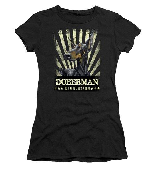 Doberman Revolution Women's T-Shirt