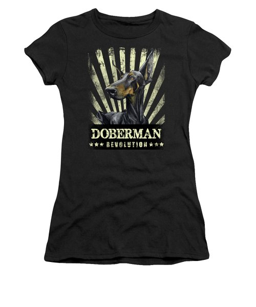 Doberman Revolution Women's T-Shirt