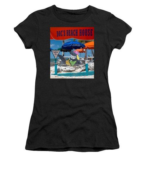 Doc's Beach House On Bonita Beach Women's T-Shirt