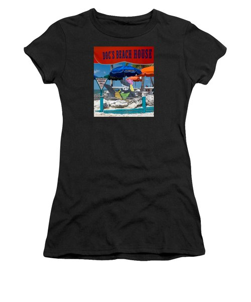 Doc's Beach House On Bonita Beach Women's T-Shirt (Athletic Fit)