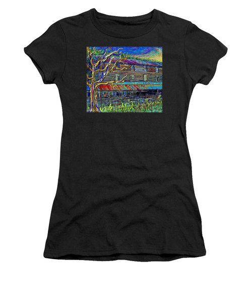 Dodds Creek Mill, ,floyd Virginia Women's T-Shirt
