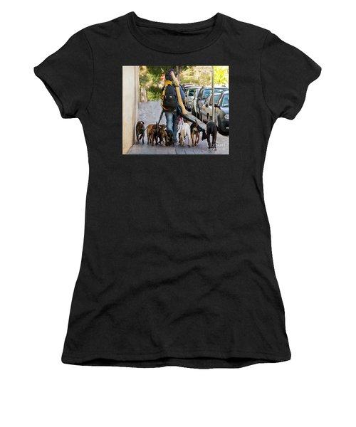 Dog Walker Women's T-Shirt