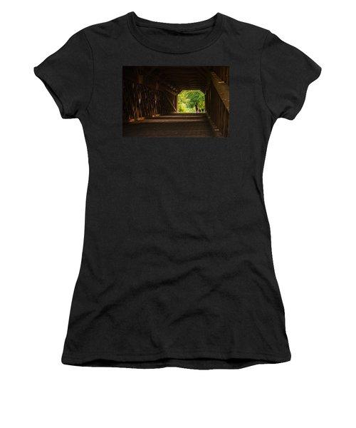 Dog Walking Women's T-Shirt