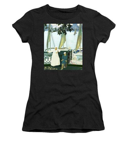 Dok Dok Landing Stage Women's T-Shirt (Athletic Fit)