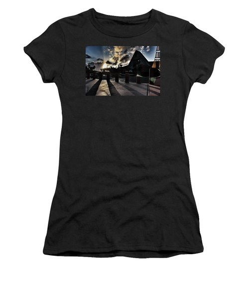 Dolphin Hotel Sunset Women's T-Shirt