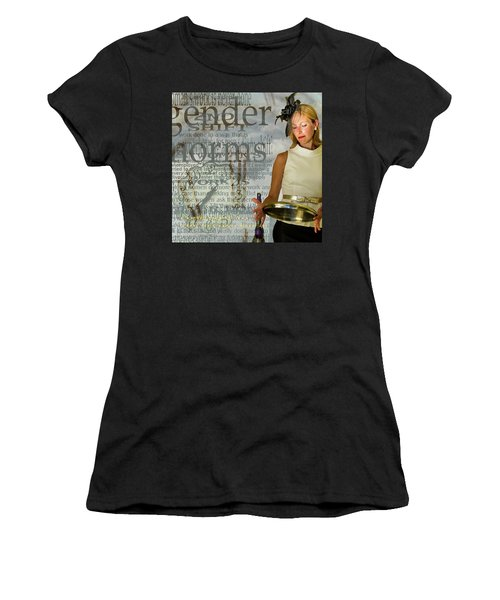 Domestic Considerations  Gender Norms Women's T-Shirt (Athletic Fit)