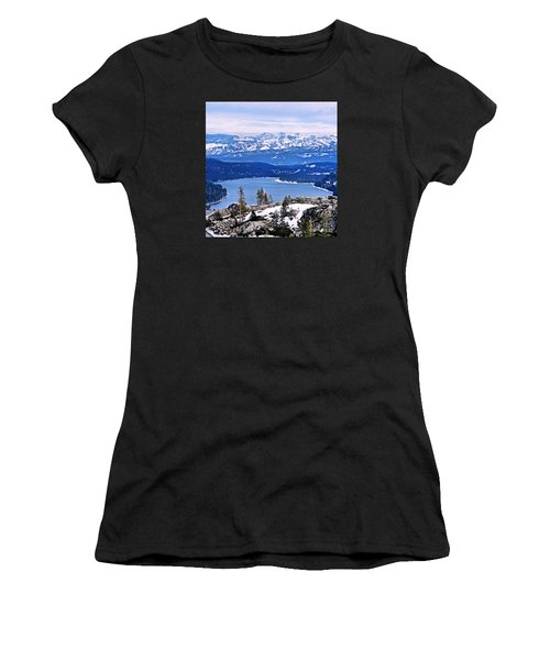 Donner Lake Women's T-Shirt (Athletic Fit)