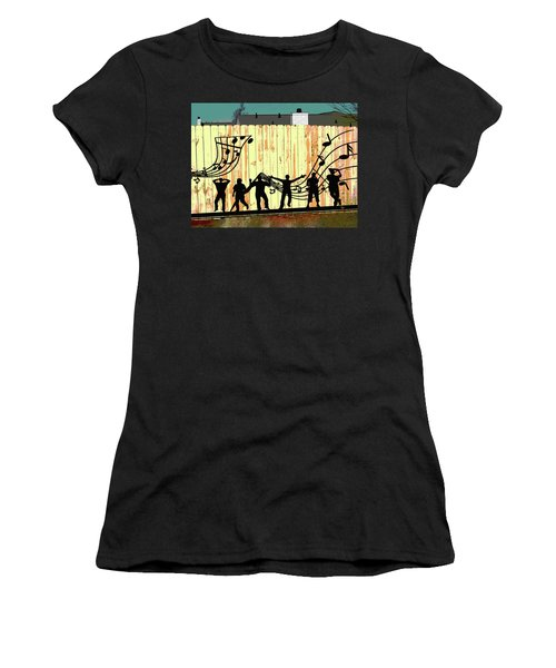 Don't Fence Me In Women's T-Shirt (Athletic Fit)
