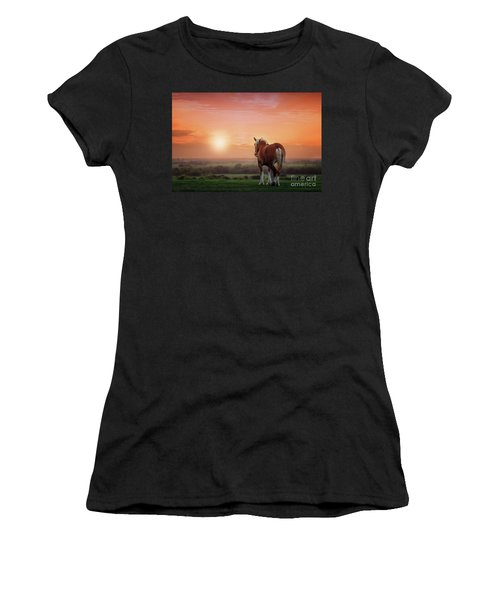 Don't Let The Sun Go Down On Me Women's T-Shirt (Junior Cut) by Tamyra Ayles
