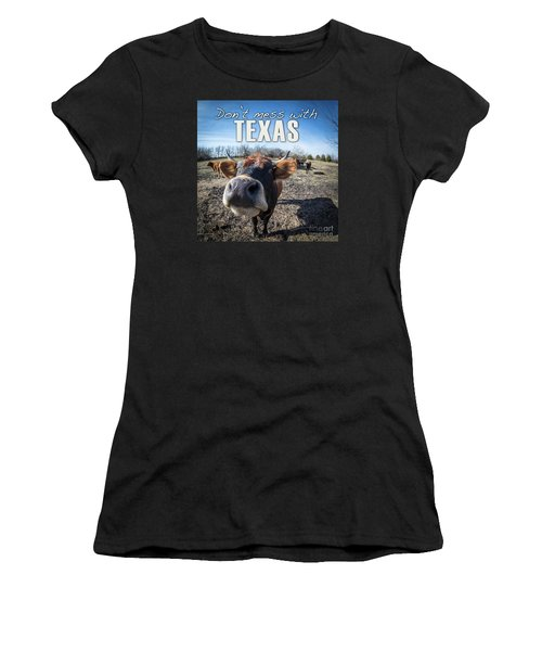 Don't Mess With Texas Women's T-Shirt (Athletic Fit)