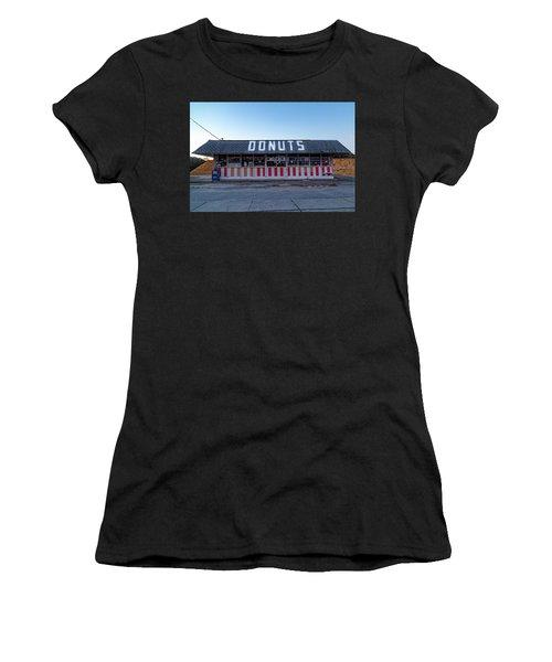 Donut Shop No Longer 3, Niceville, Florida Women's T-Shirt (Athletic Fit)