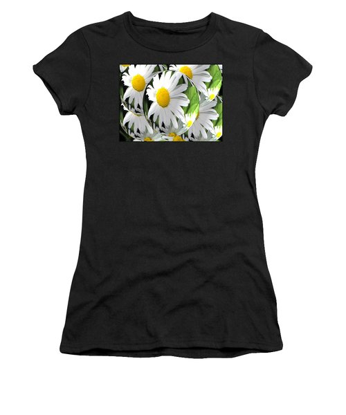 Doo Wop Daisies Women's T-Shirt (Athletic Fit)