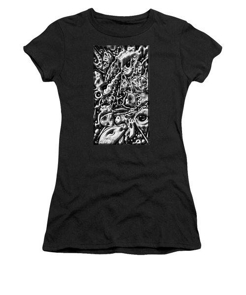 Doodle Emboss Women's T-Shirt