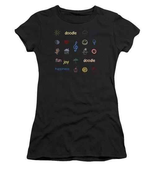 Doodle Women's T-Shirt (Athletic Fit)