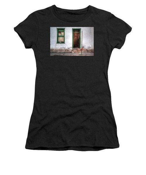 Door 345 Women's T-Shirt (Athletic Fit)