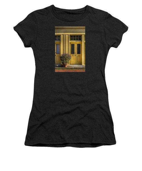Door 4 Women's T-Shirt (Athletic Fit)