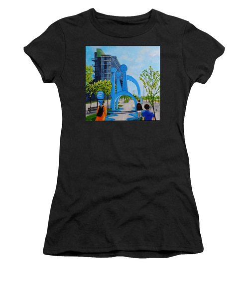 Toronto Canary District - Doors Open Toronto Women's T-Shirt (Athletic Fit)