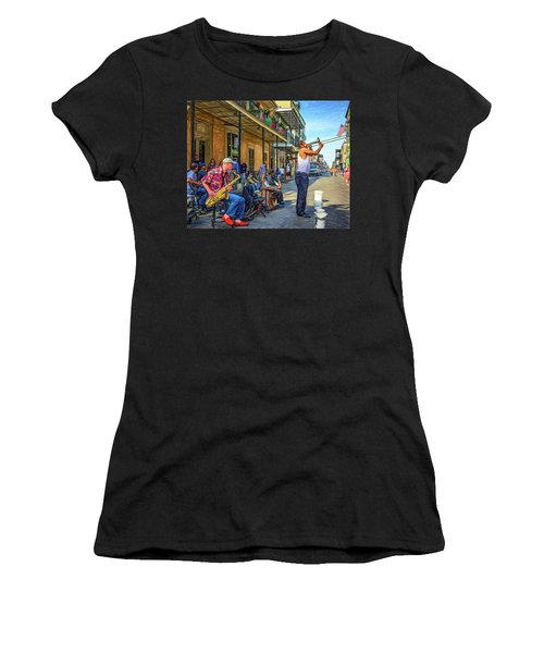 Doreen's Jazz New Orleans - Paint Women's T-Shirt