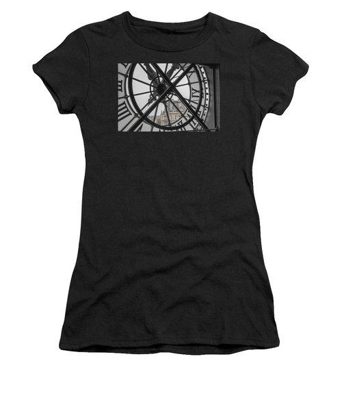 D'orsay Clock Paris Women's T-Shirt (Athletic Fit)