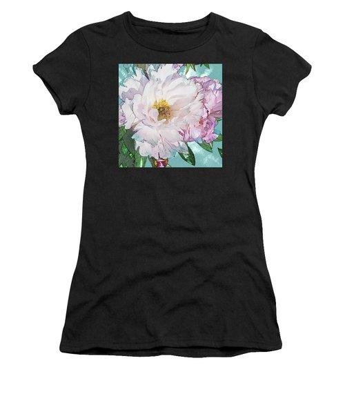 Double Peony Women's T-Shirt