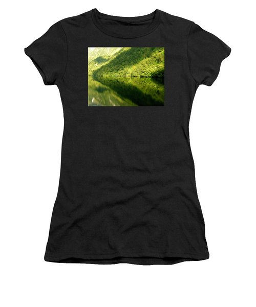 Doubtful Sound, New Zealand No. 4 Women's T-Shirt (Athletic Fit)