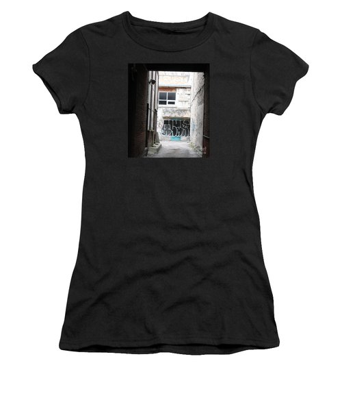 Down In The Alley Women's T-Shirt (Athletic Fit)