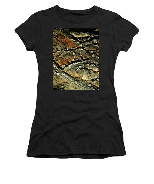 Women's T-Shirt (Junior Cut) featuring the photograph Down In The Valley by Lenore Senior