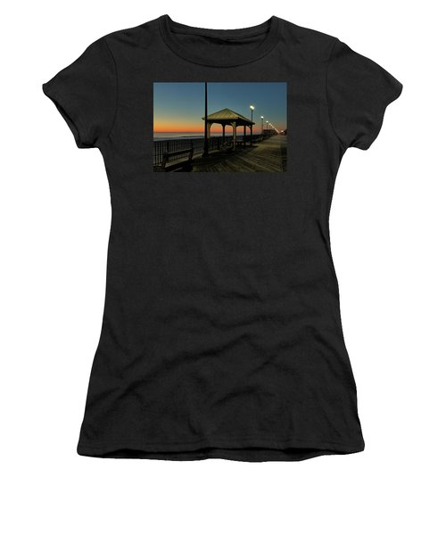 Down The Shore At Dawn Women's T-Shirt