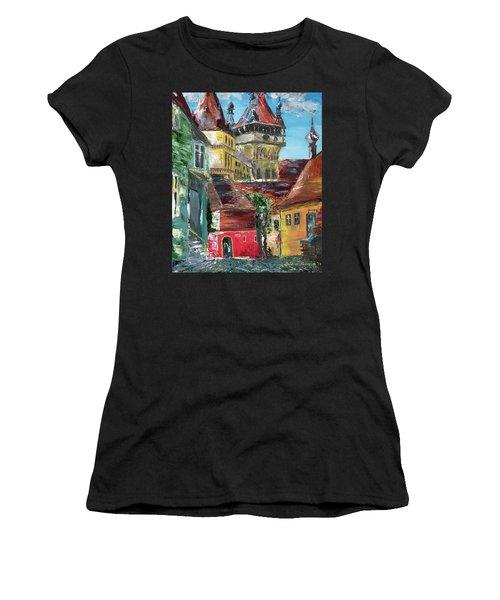 Down The Street Women's T-Shirt