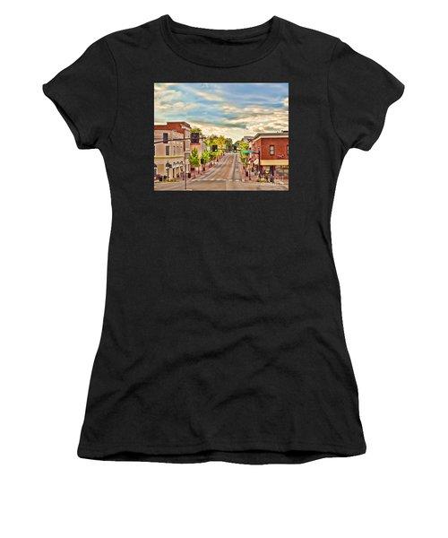 Downtown Blacksburg Women's T-Shirt