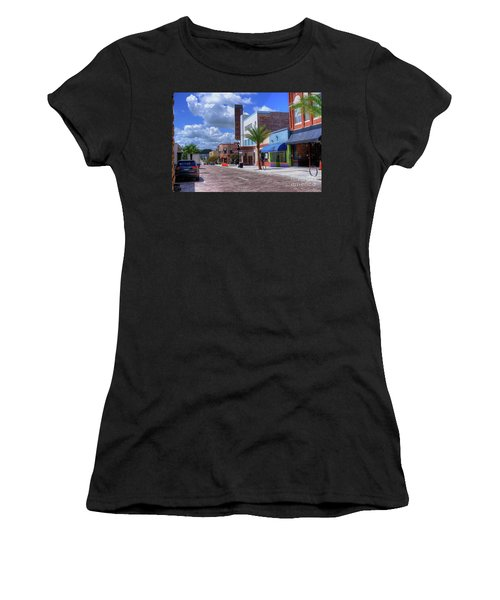 Downtown Ocala Theatre Women's T-Shirt (Athletic Fit)
