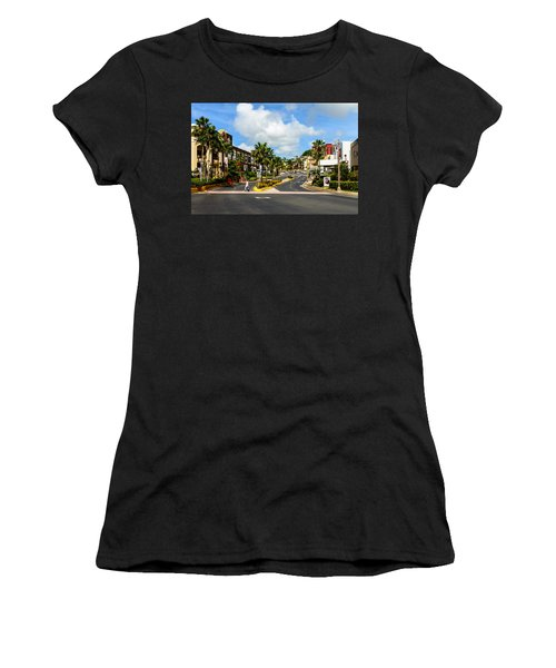 Downtown Tamuning Guam Women's T-Shirt