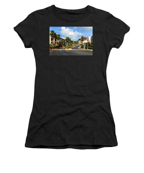 Downtown Tamuning Guam Women's T-Shirt