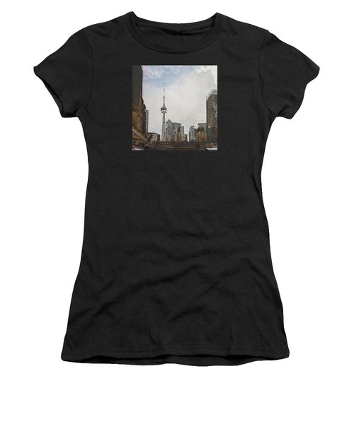 Downtown Toronto In Color Women's T-Shirt