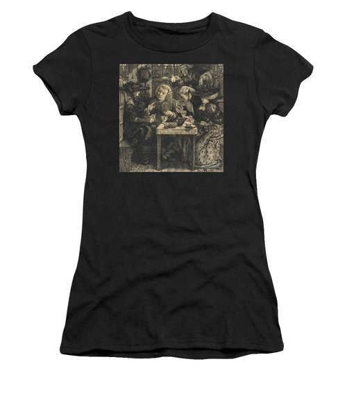 Dr Johnson At The Mitre Women's T-Shirt