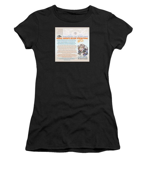 Real Fake News Antarctic Correspondent 1 Women's T-Shirt