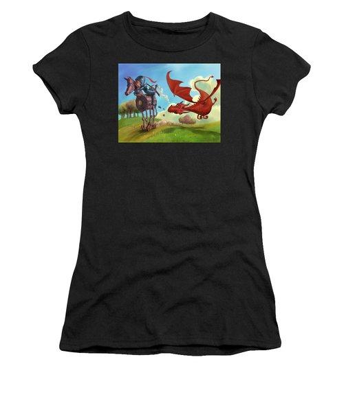 Dragon Chase Women's T-Shirt