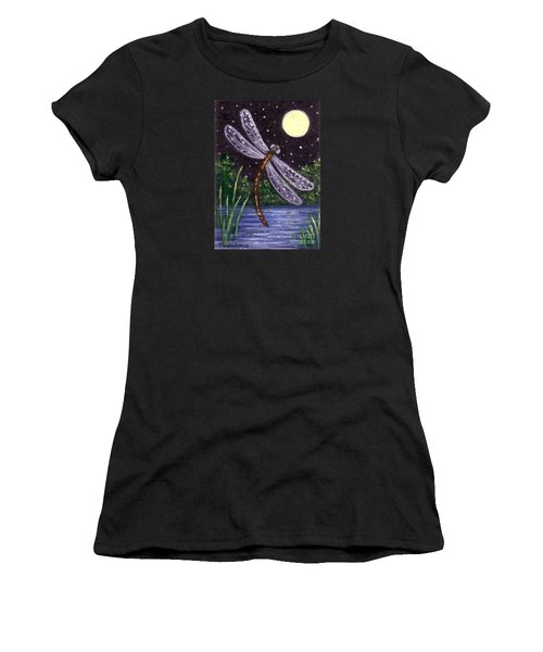 Dragonfly Dreaming Women's T-Shirt (Athletic Fit)