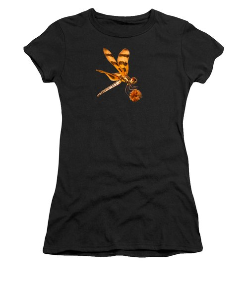 Dragonfly On Bur-reed Women's T-Shirt