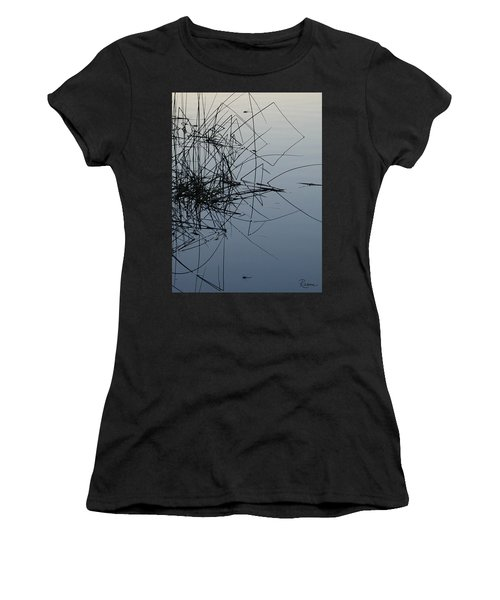 Dragonfly Reflections Women's T-Shirt (Athletic Fit)