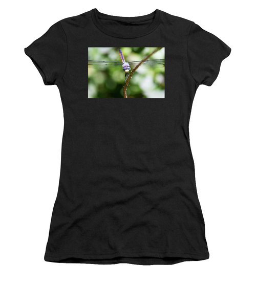 Dragonfly Watching Women's T-Shirt (Athletic Fit)