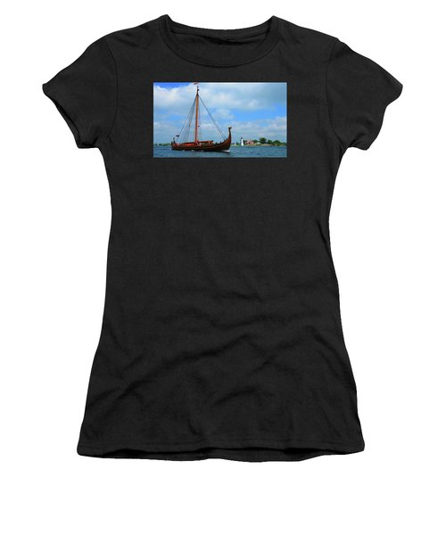 The Draken Passing Rock Island Women's T-Shirt (Athletic Fit)
