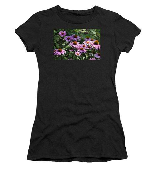 Dramatic Coneflowers Women's T-Shirt
