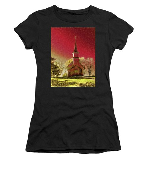 Dramatic Surrounds Women's T-Shirt (Athletic Fit)