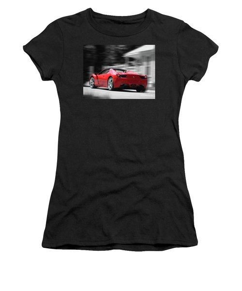 Dream Car Women's T-Shirt (Junior Cut) by Susan Lafleur