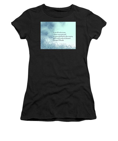 Dream Home Women's T-Shirt (Athletic Fit)